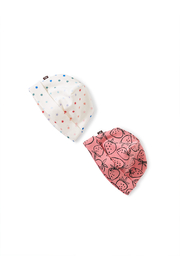 Tea Collection  Baby Hat Two Pack - Stars - Product Mini Image