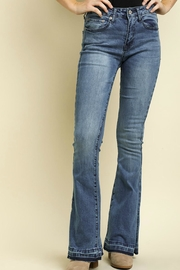 Umgee USA High Waisted Jeans - Front full body