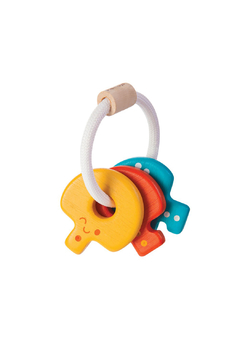 Plan Toys Baby Key Rattle - Alternate List Image
