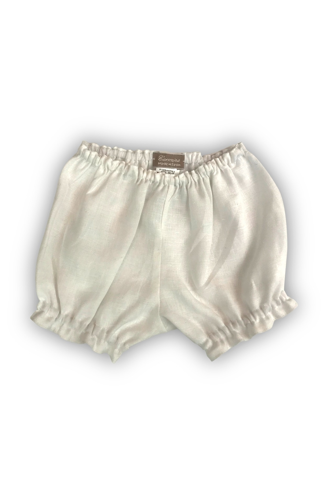 CARMINA BABY LINEN BLOOMERS BY - Front Cropped Image