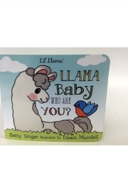 Gift Craft Baby Llama Book - Front cropped