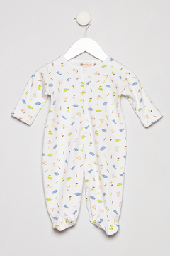 Baby Luigi Boys Cotton Romper - Product List Image