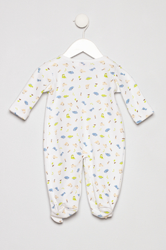Baby Luigi Boys Cotton Romper - Alternate List Image