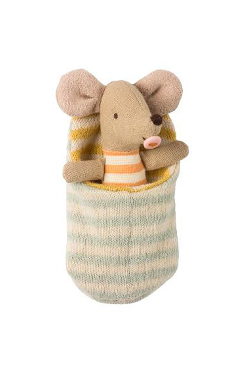 Maileg Baby-Mouse In Sleeping-Bag - Main Image