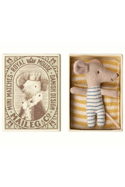 Maileg Baby Mouse Sleepy-Wakey in Box Boy - Product Mini Image