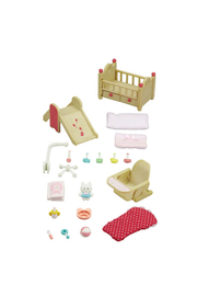 Calico Critters Baby Nursery Set - Front full body