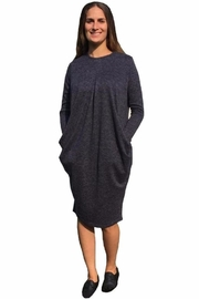 Baby-O Pleated Slouch Dress - Front cropped