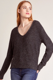 BB Dakota Baby One More Time Vneck Sweater - Front cropped
