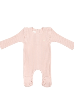Shoptiques Product: BABY ORGANIC FOOTIE - POINTELLE INFANT SLEEPWEAR