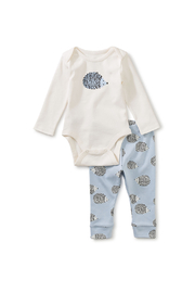 Tea Collection  Baby Outfit - Hedgehog - Product Mini Image