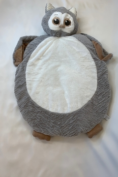Bearington Baby Collection Baby owl belly blanket, cozy soft plush - Product List Image