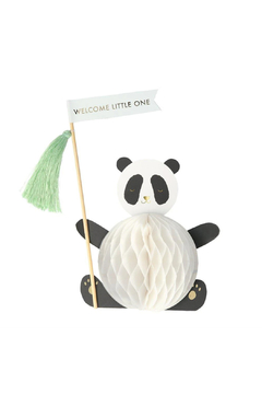 Shoptiques Product: Baby Panda Stand Up Card