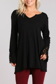 M-Rena  Baby Rib  Tunic With Lace - Product Mini Image