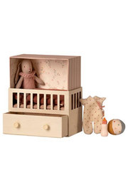 Maileg Baby Room With Micro Bunny - Product Mini Image