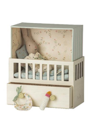 Maileg Baby Room Music Box With Micro Bunny/Rabbit - Product Mini Image