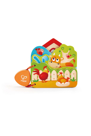 Hape Baby's Farm Animal Book - Front cropped
