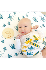 bebe au lait Baby's First Milestone Moments Set - Back cropped