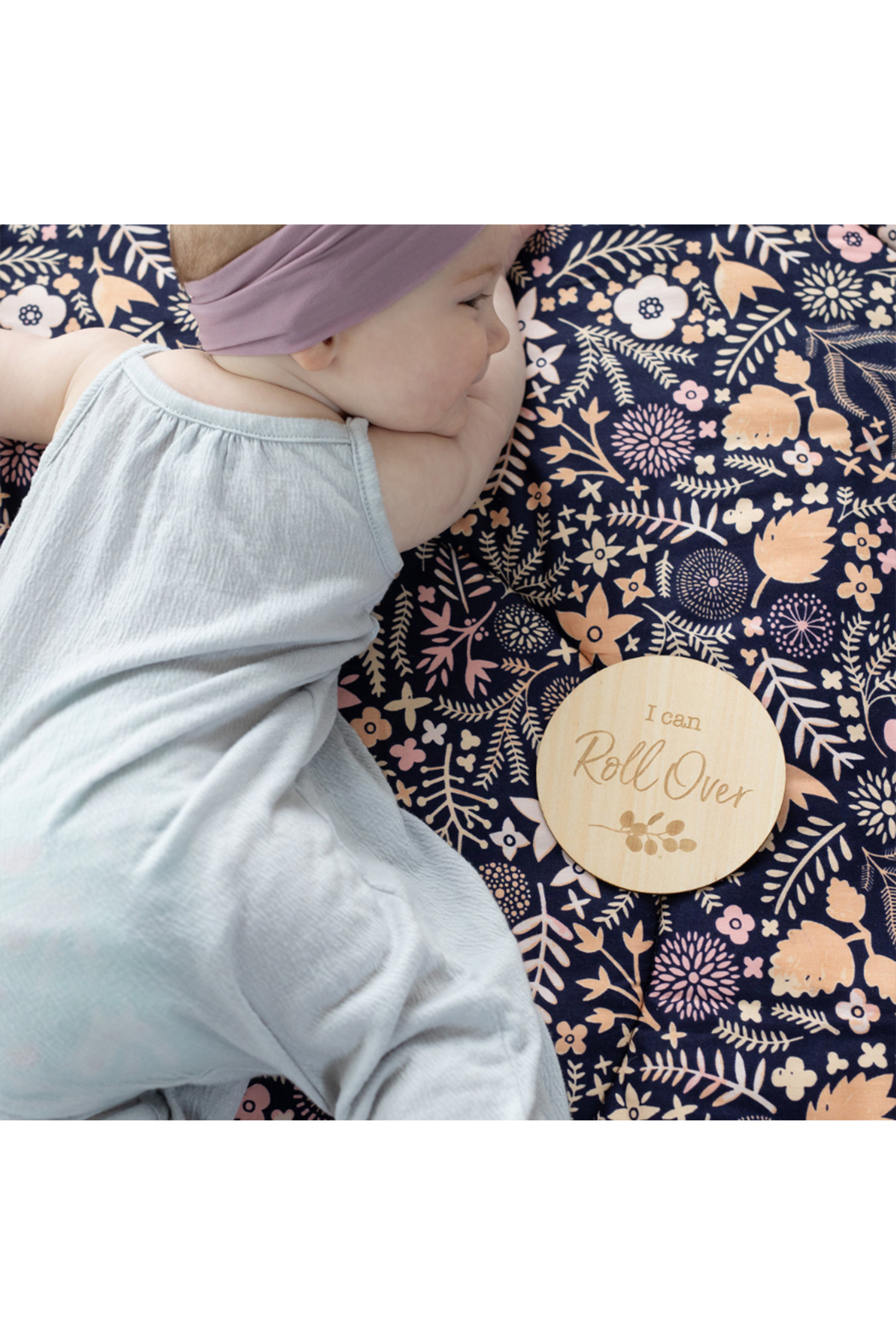 bebe au lait Baby's First Milestone Moments Set - Front Full Image