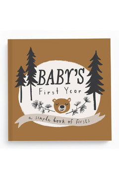 Lucy Darling Baby's First Year: A Simpe Book Of Firsts - Product List Image