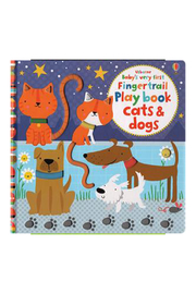 Usborne Baby's Very First Fingertrails Cats & Dogs - Product Mini Image