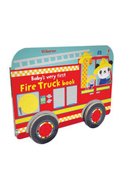 Usborne Baby's Very First Fire Truck Book - Product Mini Image
