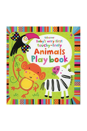 Usborne Baby's Very First Play Book Animals Words - Product Mini Image