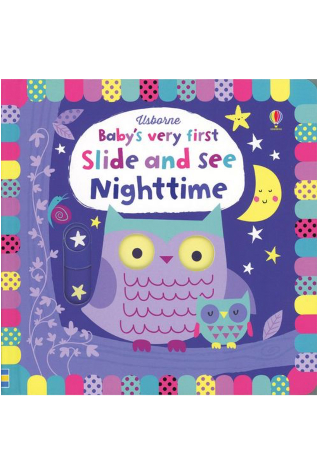 Usborne Baby's very first Slide and See Nighttime - Main Image