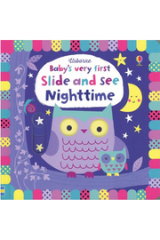 Usborne Baby's very first Slide and See Nighttime - Product Mini Image