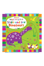 Usborne Baby's Very First Slide & See Dinosaurs - Product Mini Image