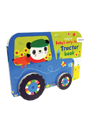 Usborne Baby's Very First Tractor Book - Front cropped
