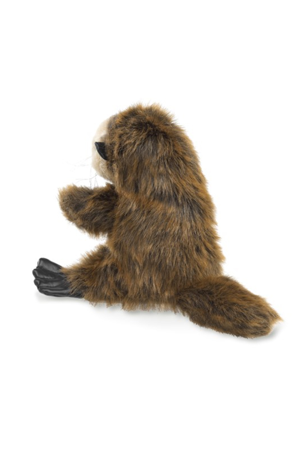 Folkmanis Baby Sea Otter Hand Puppet - Front Full Image