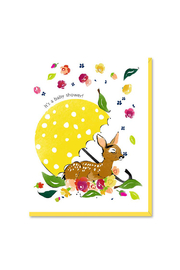 Driscoll Design Baby Shower Fawn Card - Product Mini Image