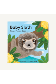 Hachette Baby Sloth Finger Puppet Book - Product Mini Image