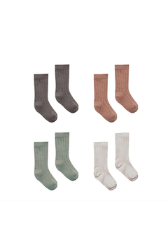 Quincy Mae Baby Socks 4 Pack - Product List Image