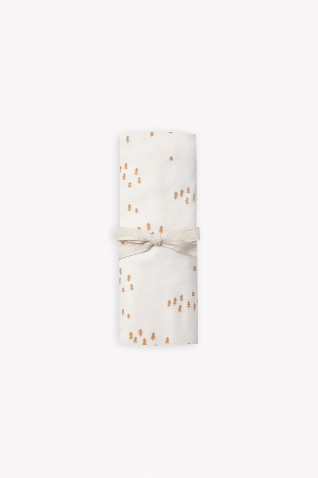 Quincy Mae Baby Swaddle in Ivory Tree Print - Main Image
