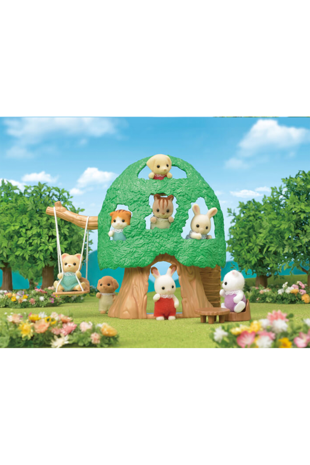 Calico Critters Baby Tree House - Front Full Image
