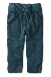 Tea Collection Baby Woven Patch Pocket Joggers - Front cropped