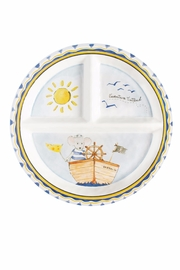 Baby Cie Adventure Sectioned Plate - Front cropped