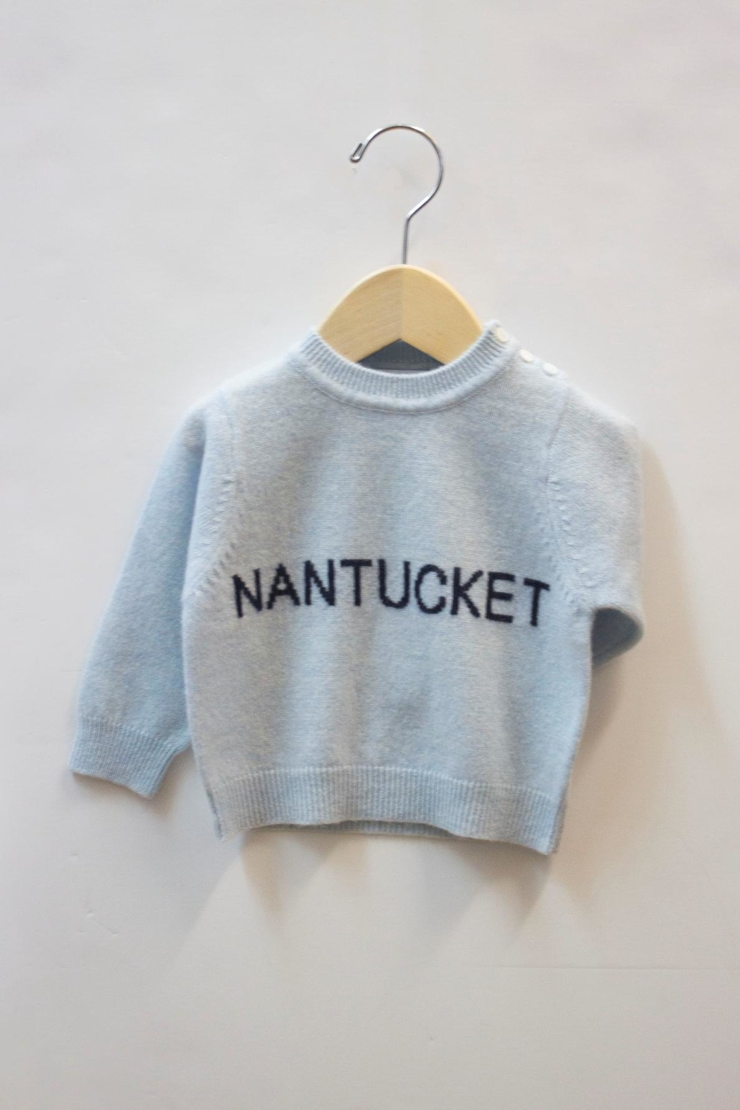 b544227557c6 Baby CZ Cashmere Nantucket Sweater from Massachusetts by Pinwheels ...