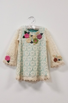 Baby Sara Flower Lace Dress - Product List Image