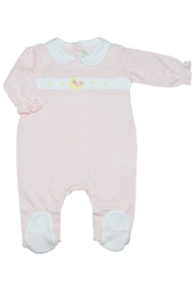 Baby Threads Moon Girl Footie - Front cropped
