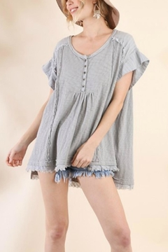ba754c2d3cdd87 ... Umgee USA Babydoll Cotton Tunic - Product List Placeholder Image