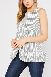 Lyn -Maree's Babydoll Knit Top - Side cropped