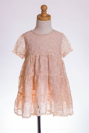 ML Kids Babydoll Lace Tunic - Front cropped