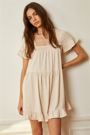 By Together Babydoll Ruffled Dress - Product Mini Image