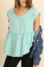 Umgee USA Babydoll Top - Product Mini Image