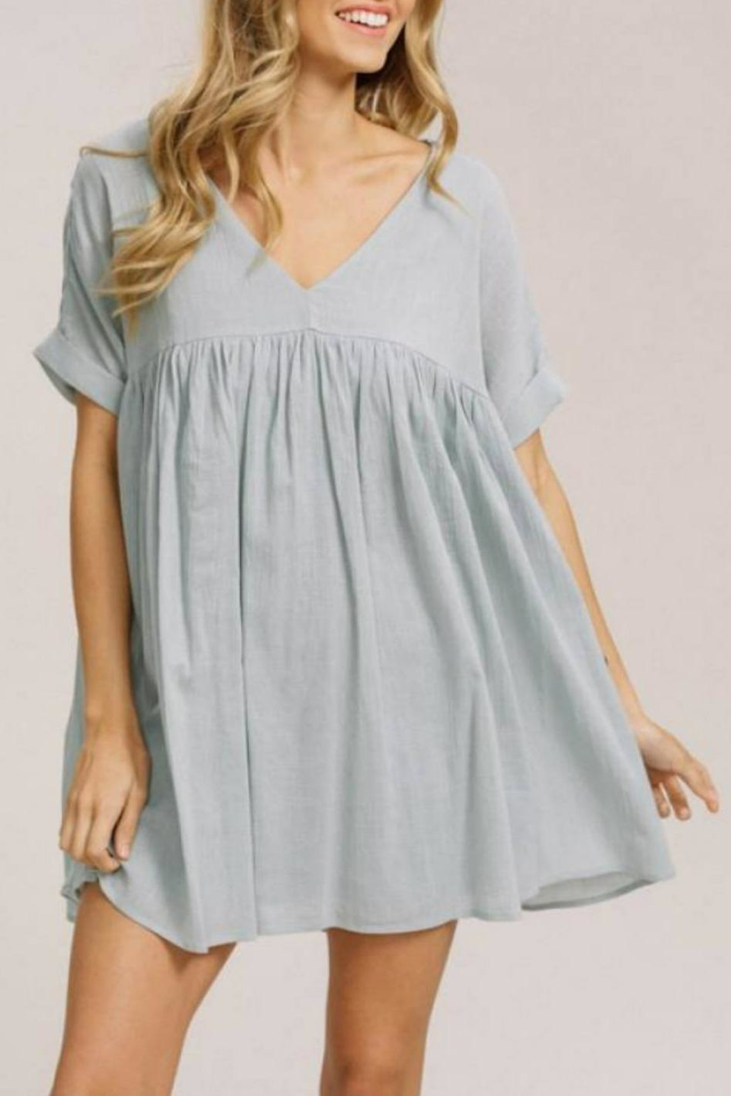 e2e947ca6bf Listicle Babydoll Tunic from Statesboro by Sole — Shoptiques