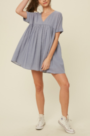 Listicle Babydoll Tunic Dress - Product Mini Image