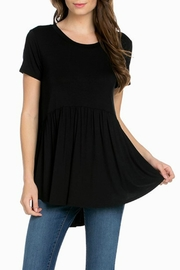 Bellamie Babydoll Tunic Top - Product Mini Image