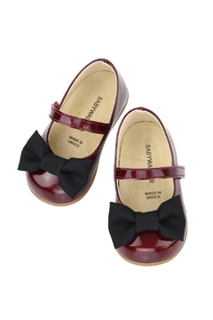 Shoptiques Product: Burgundy First Walker Shoes